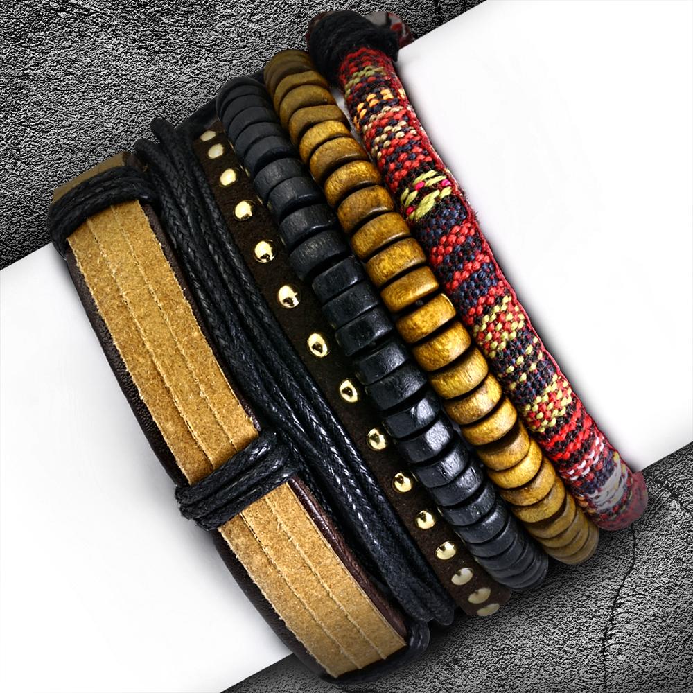 Кожаный браслет (5 шт)