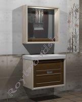 """Комплект мебели для ванной """"Лестер 80"""" из массива березы"""