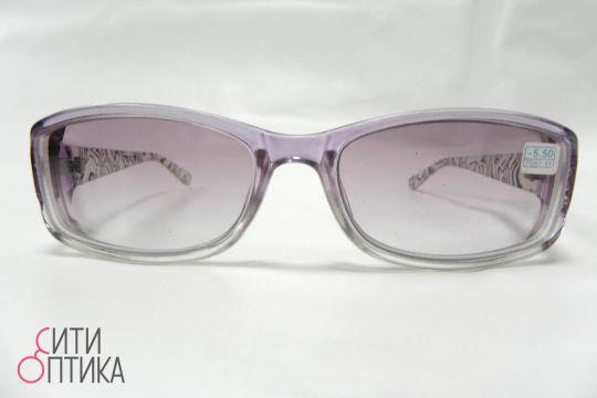 Готовые очки -5.50. Тонированные Восток HK 1318