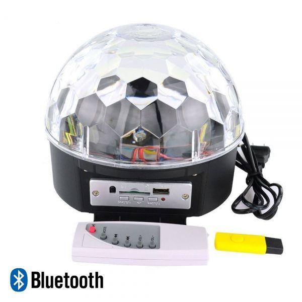 Диско шар MP3 Огонёк MP-382 (с блютузом)