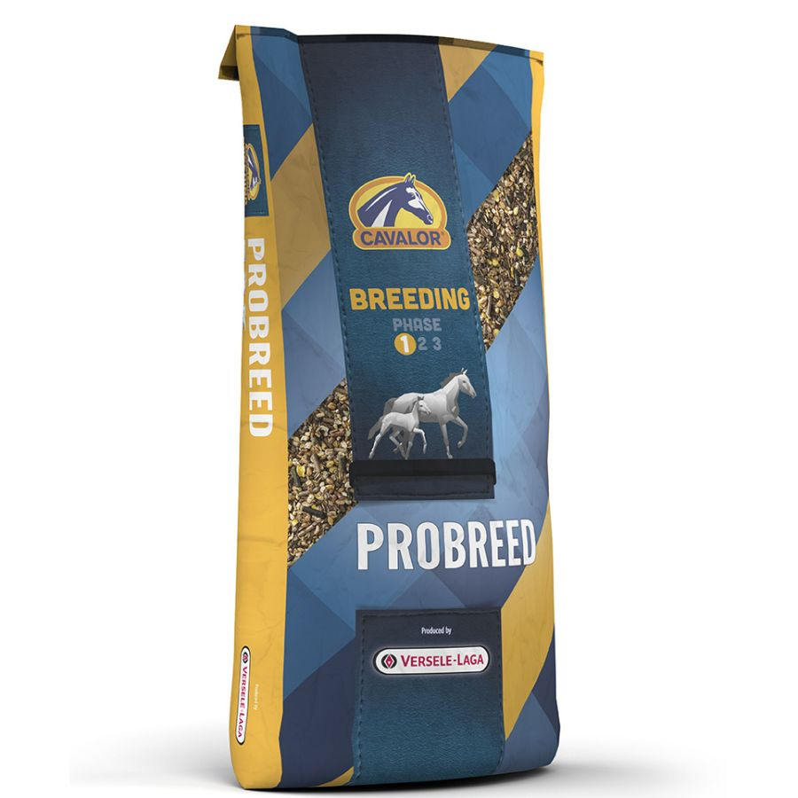 Probreed мюсли для мюсли для жеребых/лактирующих кобыл и жеребят 20 кг Cavalor