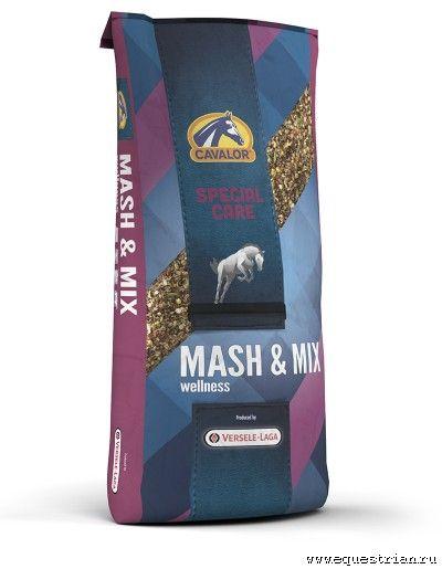 Mash&Mix мюсли после серьезных нагрузок 15 кг Cavalor