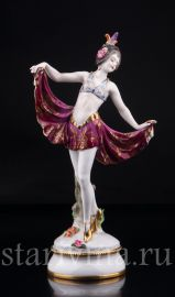 Танцовщица ардеко, Volkstedt, Германия, до 1935 г., артикул 03135
