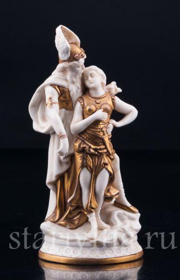 Изображение Зигфрид и Брунгильда, миниатюра, Scheibe-Alsbach, Германия, нач.20 в