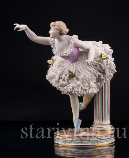 Изображение Балерина, кружевная, Volkstedt, Германия, кон.19-нач.20 в