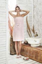 Набор для сауны женский PARIS (гр.розовый)  Арт.325-2