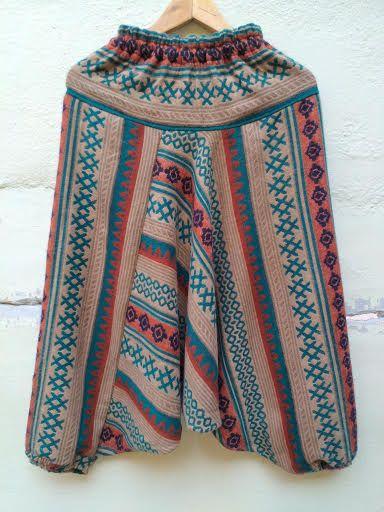 Осенне-зимние тёплые штаны алладины (отправка из Индии)