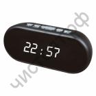 Часы  эл. сетев. VST712-6 бел.цифры (без блока) (5В)