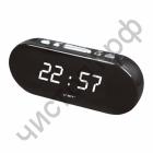 Часы  эл. сетев. VST715-6 бел.цифры (без блока) (5В)