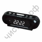 Часы  эл. сетев. VST716-6 бел.цифры