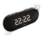 Часы  эл. сетев. VST717-6 бел.цифры