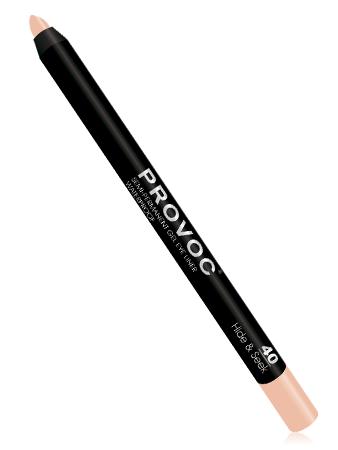 Provoc Подводка-карандаш гелевая для глаз 40 Молочный бежевый