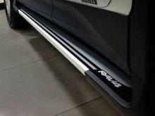 Боковые подножки cnt4x4, с логотипом, алюминиевые, к-кт на 2013-11/2015