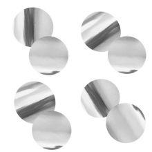 Конфетти фольга, кружки, серебро, 20мм, 50 гр