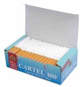 Сигаретные гильзы Cartel Carbon (угольный фильтр )
