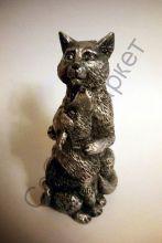 Кот с щенком статуэтка Россия