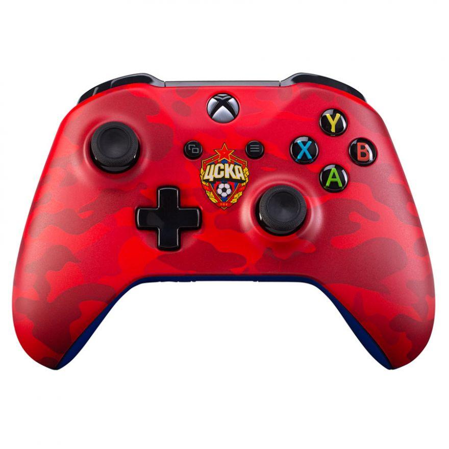 "Геймпад Microsoft Xbox One Wireless Controller (ФК ЦСКА ""КРАСНО-АРМЕЙСКИЙ"")"