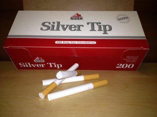 Сигаретные гильзы Gizeh Silver Tip 200