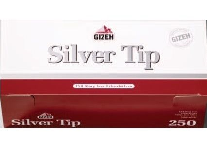 Сигаретные гильзы Gizeh Silver Tip 250
