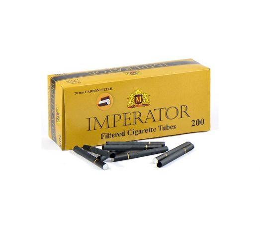 Сигаретные гильзы Imperator Black Carbon (угольные) 200