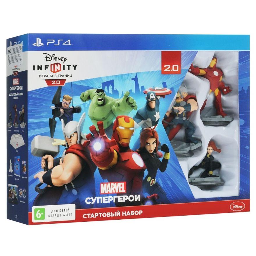 Игра Disney Infinity 2.0 (PS4) Набор Marvel