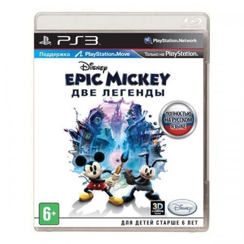Игра Epic Mickey : Две легенды (PS3)