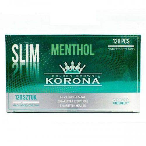 Сигаретные гильзы Korona Slim Menthol 120