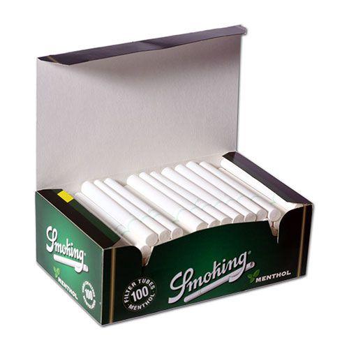Сигаретные гильзы Smoking  Menthol 100
