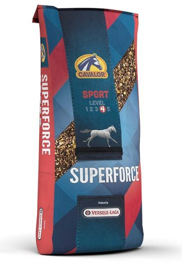Superforce мюсли для спортивных лошадей 20 кг Cavalor