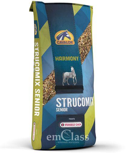 Strucomix Senior мюсли для содержания возрастных лошадей 20 кг Cavalor
