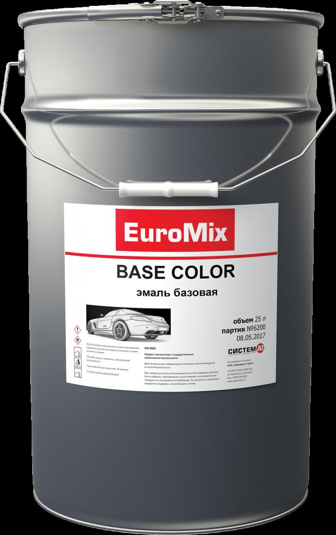 EuroMix Эмаль EUROMIX базовая приз 276 (1 л)