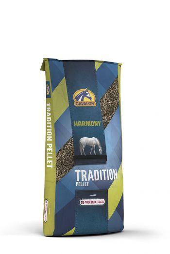 Tradition Pellet корм для лошадей в период покоя или несущих очень легкие нагрузки 25 кг Cavalor