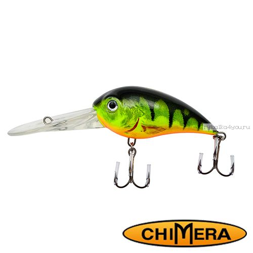Купить Воблер Chimera Siver Fox Bomber 70DR / цвет: 120 70 мм 22 гр/ Заглубление: 2,5-6,5м