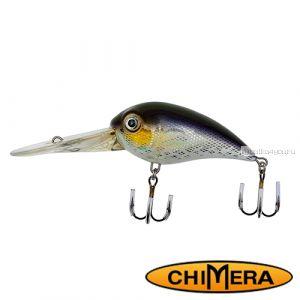 Воблер Chimera Siver Fox Bomber 70DR  / цвет: 010 / 70 мм / 22 гр/ Заглубление: 2,5-6,5м