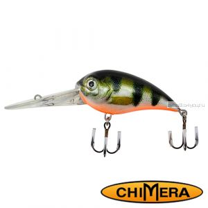 Воблер Chimera Siver Fox Bomber 70DR  / цвет: 008 / 70 мм / 22 гр/ Заглубление: 2,5-6,5м