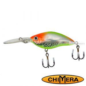 Воблер Chimera Siver Fox Crank 70DR  / цвет: 001 / 70 мм / 15 гр/ Заглубление: 1,5-4м