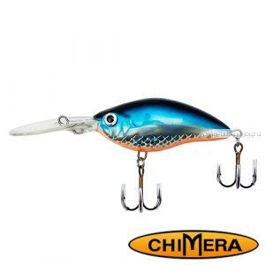 Воблер Chimera Siver Fox Crank 70DR  / цвет: 004 / 70 мм / 15 гр/ Заглубление: 1,5-4м