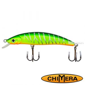 Воблер Chimera Siver Fox Fat Minoow 100FL / цвет: 006 / 100 мм / 13 гр/ Заглубление: 1-2м