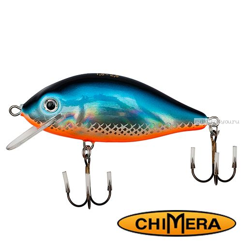 Воблер Chimera Siver Fox Karas 50FL  / цвет: 004 / 50 мм / 5,5 гр/ Заглубление: 0,5-1,2м
