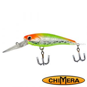 Воблер Chimera Siver Fox Nano 40DR  / цвет: 001 / 40 мм / 3 гр/ Заглубление: 0,8-1,2м