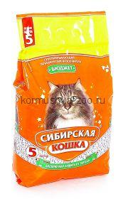 """Сибирская кошка впитывающий наполнитель """"Бюджет"""""""