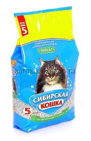 """Сибирская кошка впитывающий наполнитель """"Эффект"""", 5л"""