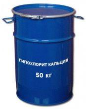 Гипохлорит кальция 25%  / (хлорка) / барабан 50кг