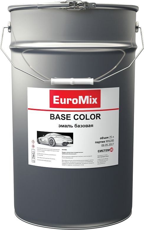 EuroMix Эмаль EUROMIX базовая сочи 360 (1 л)