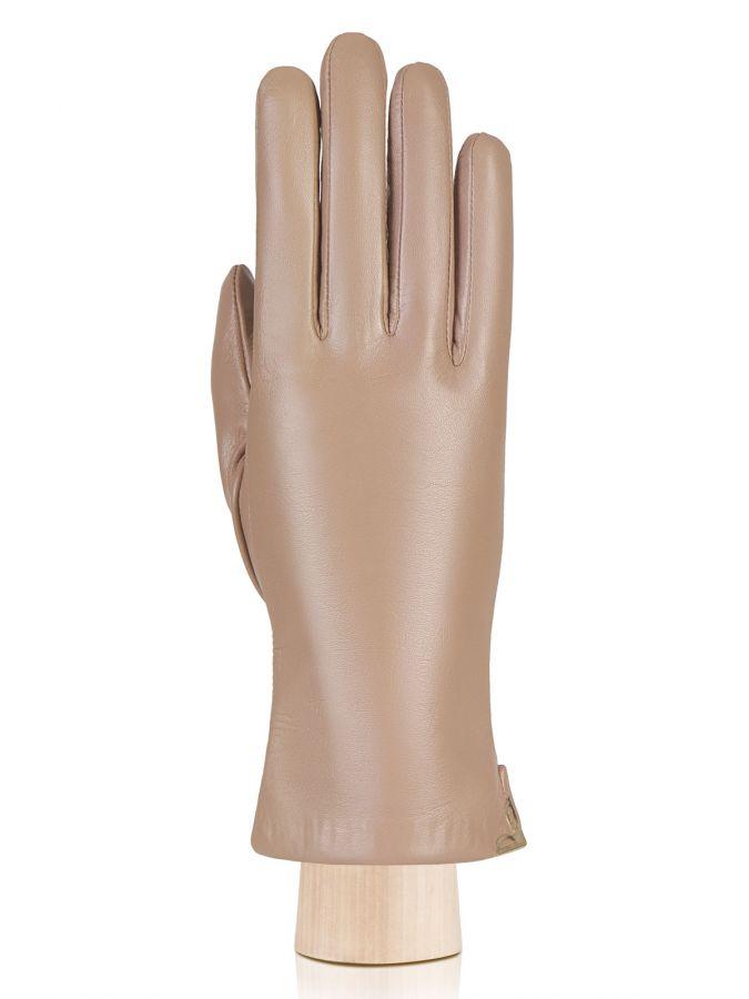 Кожаные перчатки с боковым разрезом ELEGANZZA