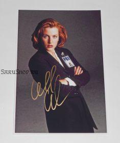 Автограф: Джиллиан Андерсон. Секретные материалы / The X Files.