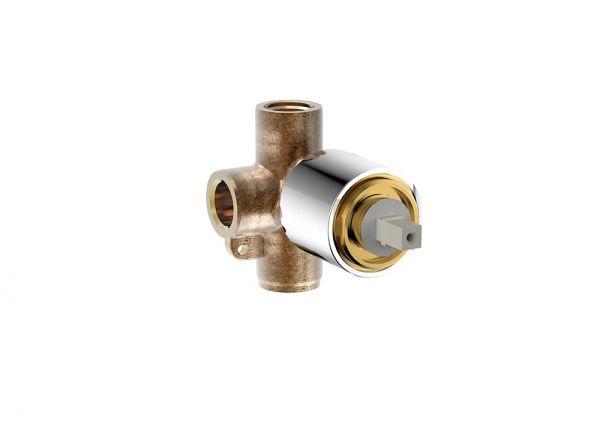 Скрытая часть встраиваемого смесителя (1-функц) Bravat