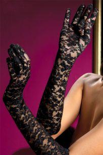 Гипюровые перчатки разных цветов