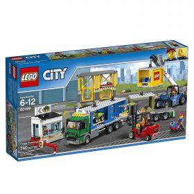 Lego City 60169 Грузовой терминал #
