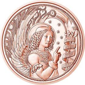 Архангел Гавриил(Ангел благовестия) 10 евро Австрия 2017